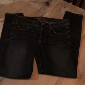 American Eagle super skinny stretch 8 Long jeans